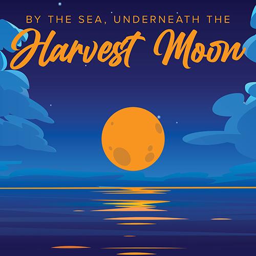 Au bord de la mer, sous la lune des moissons