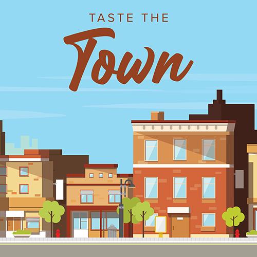 Goûtez à la visite à pied de la ville, de la nourriture et des faits
