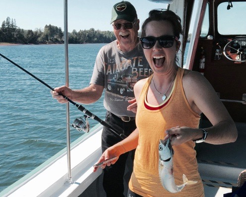 Deep Sea Fishing with On Board Barbeque